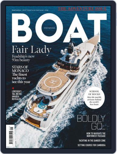 Boat International September 1st, 2019 Digital Back Issue Cover