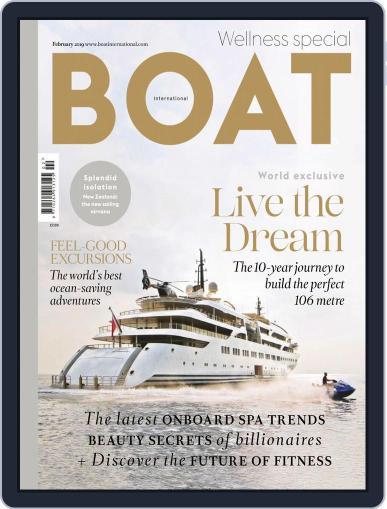 Boat International February 1st, 2019 Digital Back Issue Cover