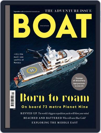 Boat International September 1st, 2018 Digital Back Issue Cover