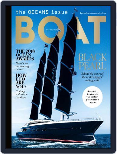 Boat International (Digital) June 1st, 2018 Issue Cover
