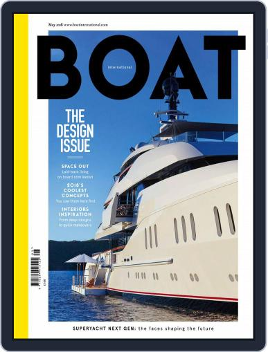 Boat International (Digital) May 1st, 2018 Issue Cover