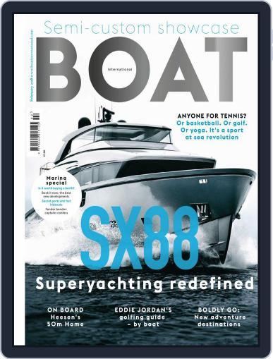 Boat International (Digital) February 1st, 2018 Issue Cover