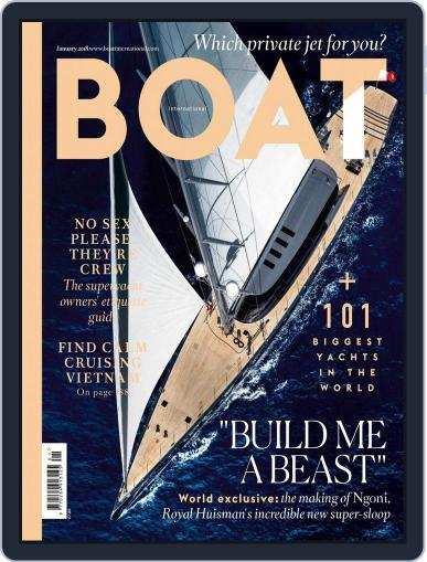 Boat International (Digital) January 1st, 2018 Issue Cover