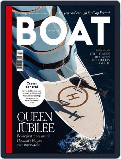 Boat International (Digital) October 1st, 2017 Issue Cover