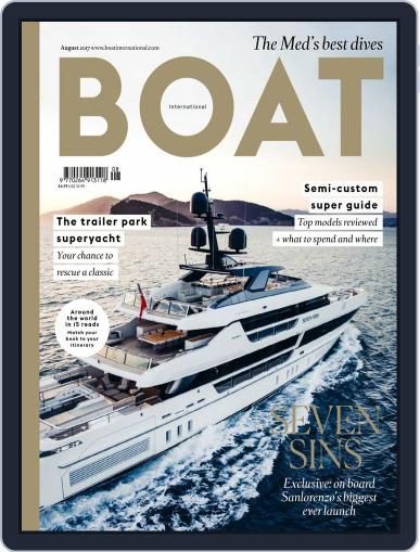 Boat International (Digital) August 1st, 2017 Issue Cover