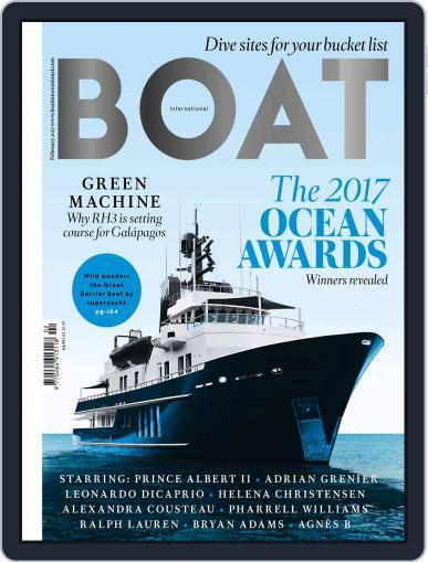 Boat International (Digital) February 1st, 2017 Issue Cover