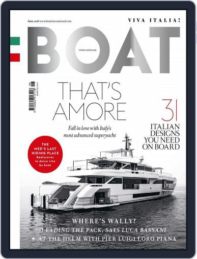 Boat International May 12th, 2016 Digital Back Issue Cover