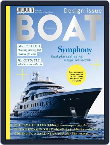 Boat International (Digital) April 15th, 2016 Issue Cover