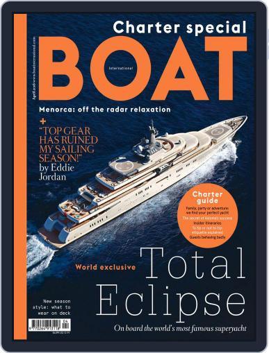 Boat International (Digital) April 1st, 2016 Issue Cover
