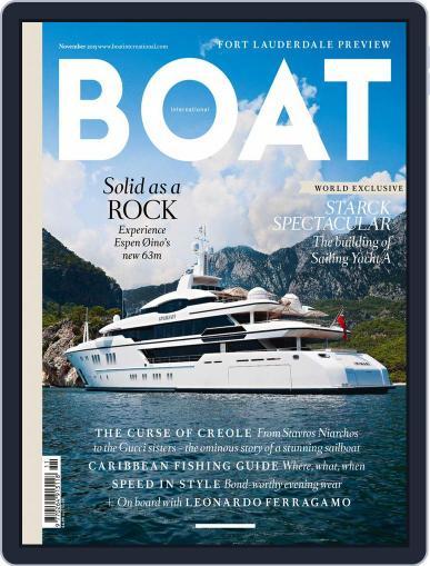 Boat International (Digital) November 1st, 2015 Issue Cover