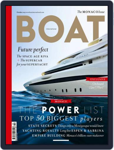 Boat International October 1st, 2015 Digital Back Issue Cover