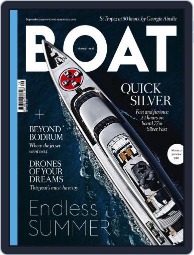 Boat International (Digital) September 1st, 2015 Issue Cover