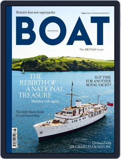 Boat International (Digital) July 10th, 2015 Issue Cover