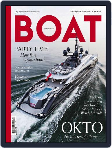 Boat International (Digital) June 11th, 2015 Issue Cover