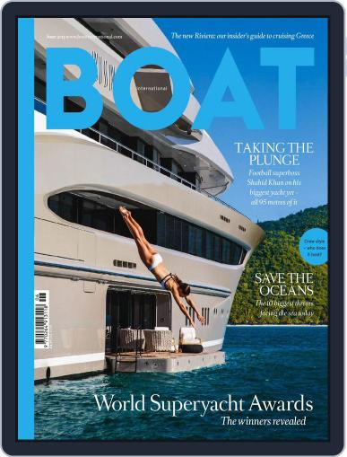Boat International (Digital) May 18th, 2015 Issue Cover