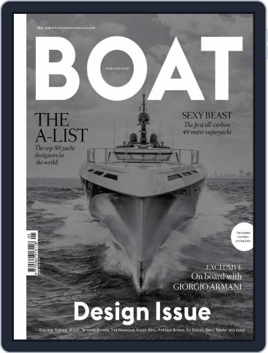Boat International (Digital) April 8th, 2015 Issue Cover