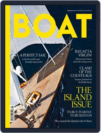 Boat International January 11th, 2015 Digital Back Issue Cover