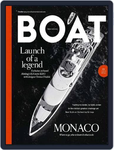 Boat International September 11th, 2014 Digital Back Issue Cover