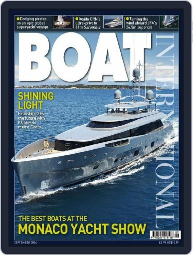 Boat International (Digital) August 14th, 2014 Issue Cover