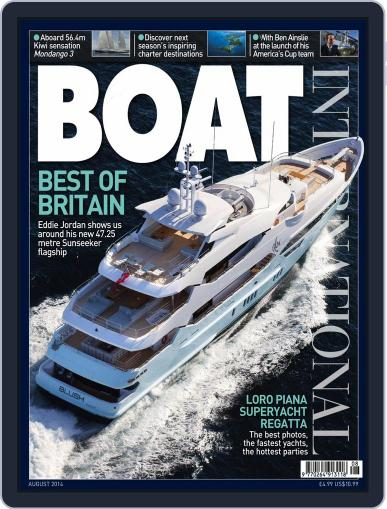 Boat International July 10th, 2014 Digital Back Issue Cover