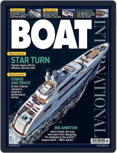 Boat International (Digital) September 17th, 2013 Issue Cover