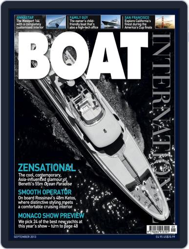 Boat International (Digital) August 8th, 2013 Issue Cover