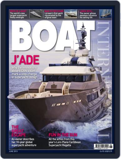 Boat International May 9th, 2013 Digital Back Issue Cover