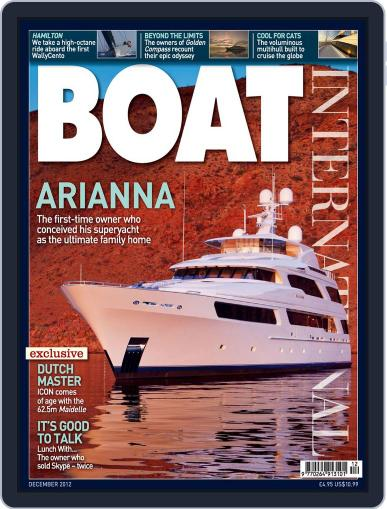Boat International (Digital) November 12th, 2012 Issue Cover