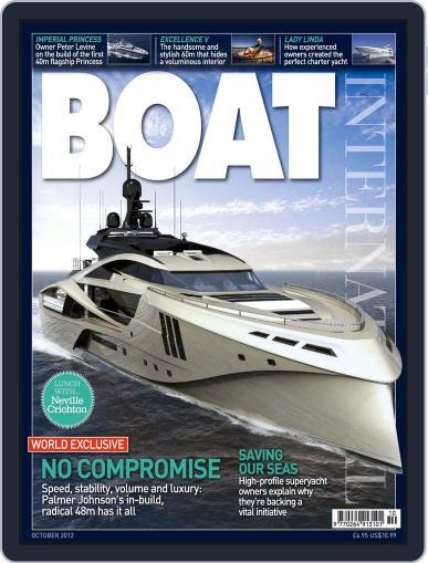 Boat International (Digital) September 18th, 2012 Issue Cover