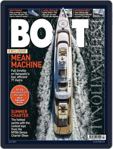 Boat International June 19th, 2012 Digital Back Issue Cover