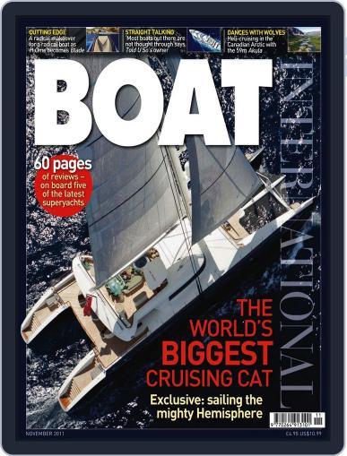 Boat International (Digital) October 17th, 2011 Issue Cover