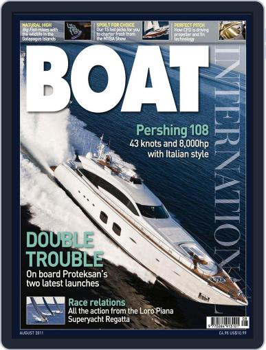 Boat International July 13th, 2011 Digital Back Issue Cover