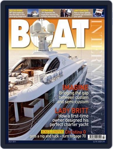 Boat International (Digital) June 15th, 2011 Issue Cover