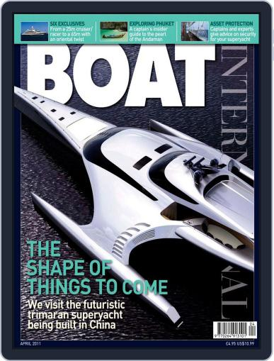 Boat International March 13th, 2011 Digital Back Issue Cover