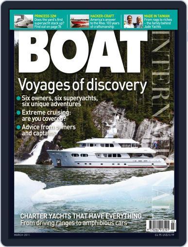Boat International (Digital) February 14th, 2011 Issue Cover