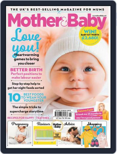 Mother & Baby March 1st, 2019 Digital Back Issue Cover