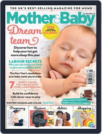 Mother & Baby (Digital) February 1st, 2019 Issue Cover