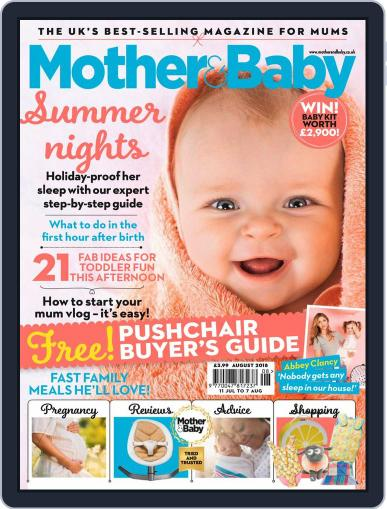 Mother & Baby (Digital) August 1st, 2018 Issue Cover