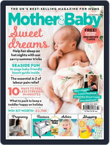 Mother & Baby (Digital) July 1st, 2018 Issue Cover