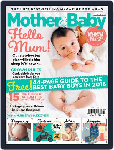 Mother & Baby April 1st, 2018 Digital Back Issue Cover