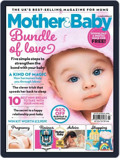 Mother & Baby (Digital) March 1st, 2018 Issue Cover