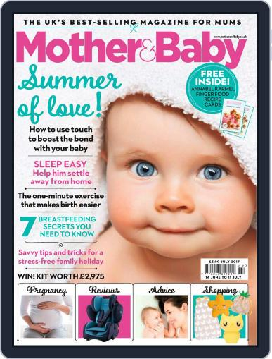Mother & Baby (Digital) July 1st, 2017 Issue Cover