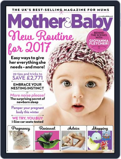 Mother & Baby (Digital) February 1st, 2017 Issue Cover