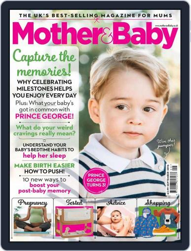 Mother & Baby (Digital) August 9th, 2016 Issue Cover