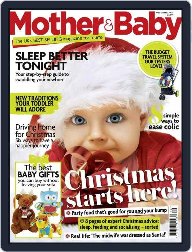 Mother & Baby (Digital) December 1st, 2015 Issue Cover