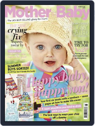 Mother & Baby (Digital) August 1st, 2015 Issue Cover