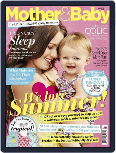 Mother & Baby (Digital) July 1st, 2015 Issue Cover