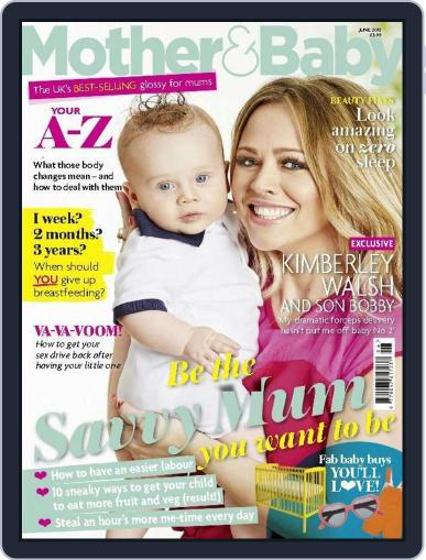 Mother & Baby (Digital) June 1st, 2015 Issue Cover
