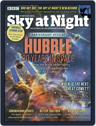 BBC Sky at Night May 1st, 2020 Digital Back Issue Cover