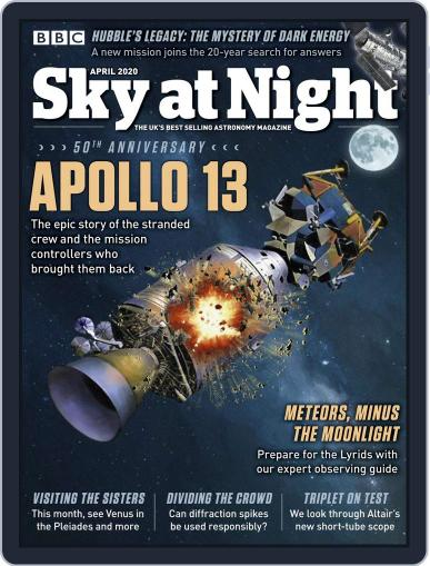 BBC Sky at Night (Digital) April 1st, 2020 Issue Cover
